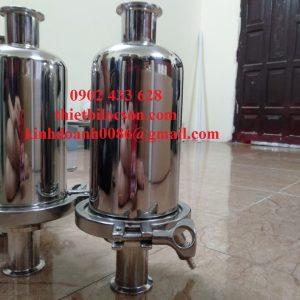 Cốc lọc khí 5 inch inox 316 chứa lõi oring