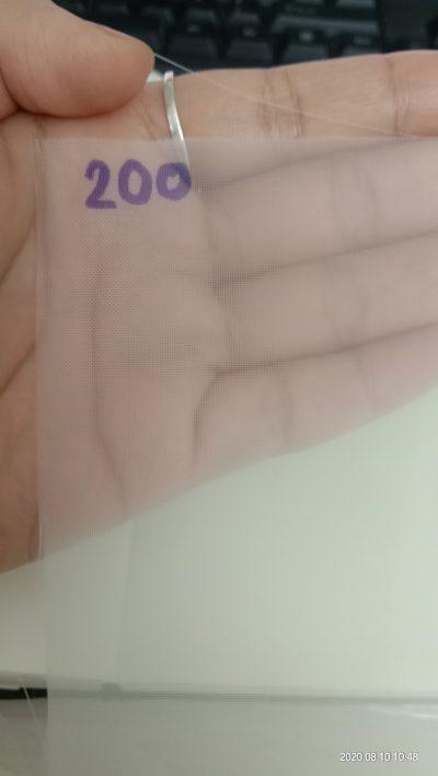 Vải NMO 200 micron sàng lọc cặn điều chế tinh bột sắn