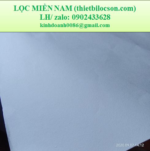Giấy lọc dầu chiên dạng tấm khổ 60cmx60cm