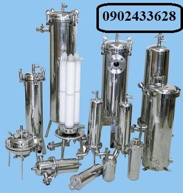 Bình inox 304, 7 lõi 40 inch lọc cho dược phẩm với áp suất lớn