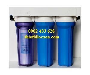 Bộ lọc nước sinh hoạt 3 cấp lọc 10inch