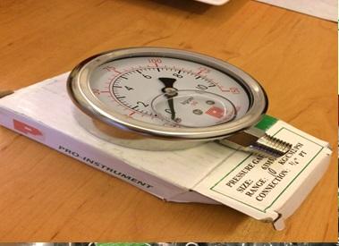 Đồng hồ đo áp suất bằng inox