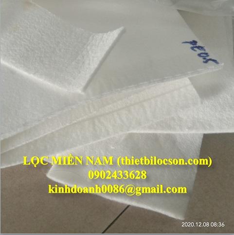 Vải lọc PE khổ vải 1m8 cắt tới theo yêu cầu