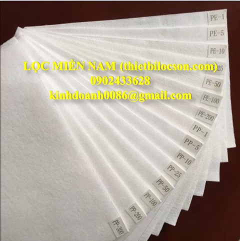 Vải PP chuyên lọc hoá chất tẩy rửa