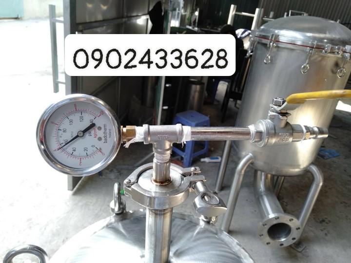 Bồn inox chứa lõi 30inch, áp suất lên đến 15kg