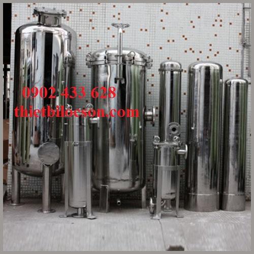 Bình lọc lõi inox 304 inox 316 chịu lưu lượng lớn