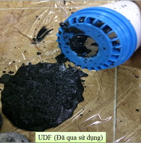 Lõi than dạng hạt UDF 10inch khử phèn