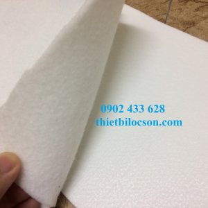 Vải polyester PE 400g lọc dược phẩm dạng bột