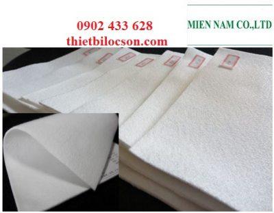 Vải lọc hoá chất khổ 1m8 chất liệu PP poly propylen