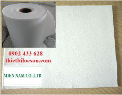 Vải lọc hoá chất khổ 1m8 chất liệu poly propylen