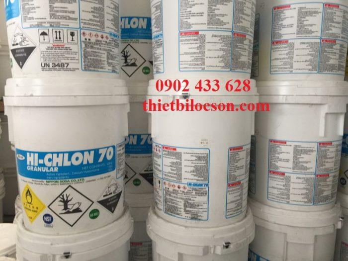 Hóa chất chlorine 70 Calcium hypochlorite