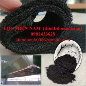 Tấm Xốp Carbon 5mm Lọc Bụi Khử Mùi