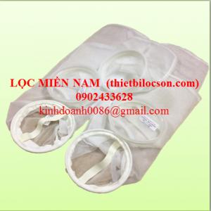 Túi lọc vải Nylon Mesh 100 micron lọc cặn hạt, cặn từ quá trình ép các loại trái cây
