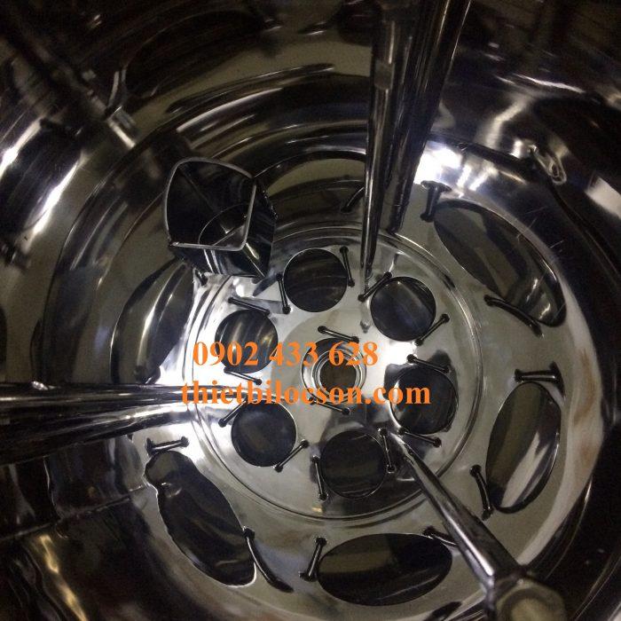 Bộ bình lọc 7 lõi 20 inch chất liệu inox 316