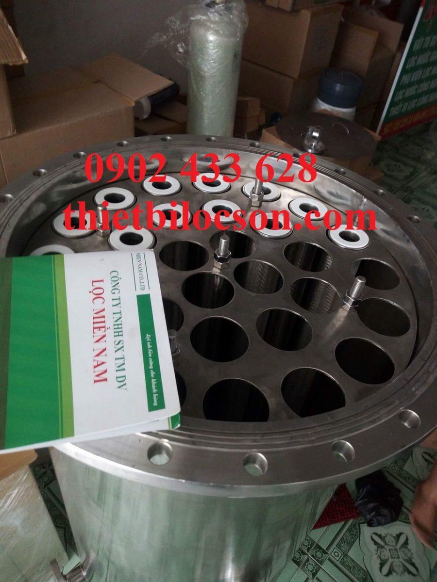 Housing lọc lõi vật liệu inox 316