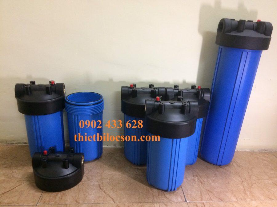 Cốc lọc nhựa PP 10 inch Big Blue chịu hóa chất