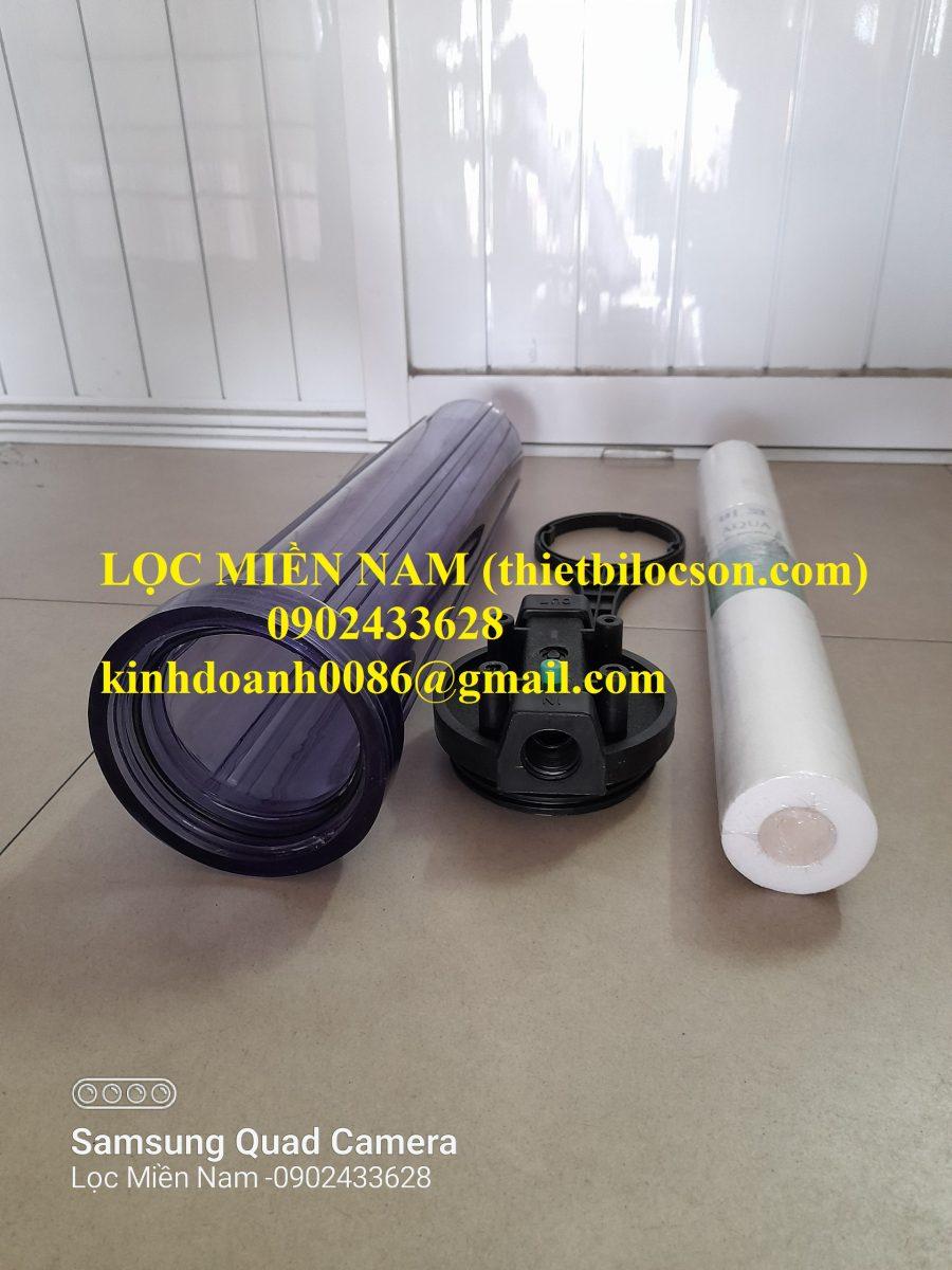 Cốc lọc nhựa SAN trong 20 inch