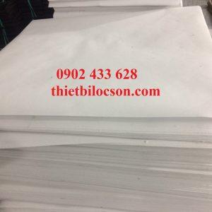 Nhận gia công cắt khổ giấy lọc dầu chiên theo yêu cầu