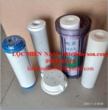 Cốc lọc nhựa trong 10 inch lọc cặn chất lỏng