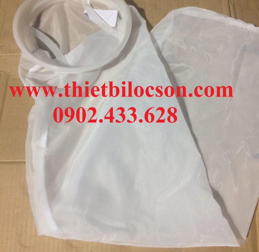Túi NMO size 2 lọc cặn xác thô với hiệu suất giữ cặn cao
