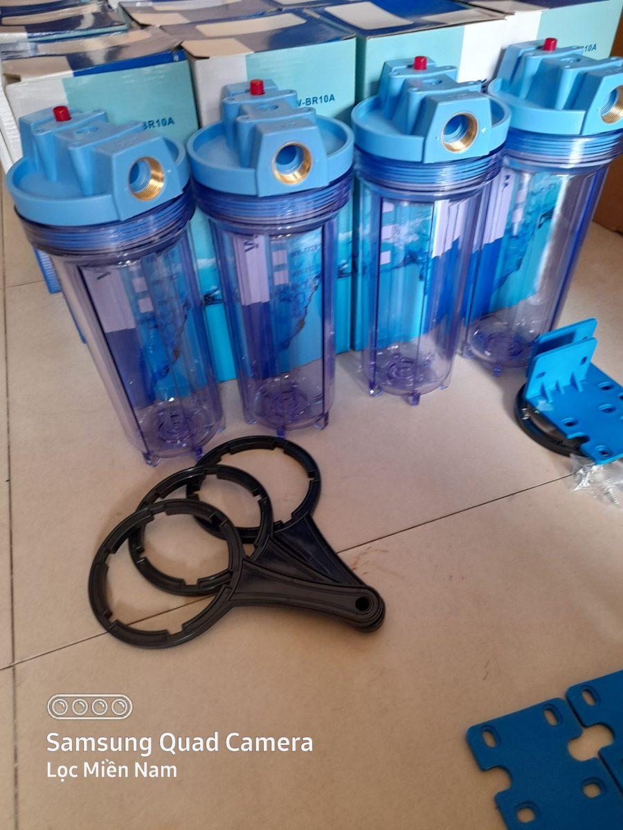 Cốc lọc nước 10 inch Ren phi 27