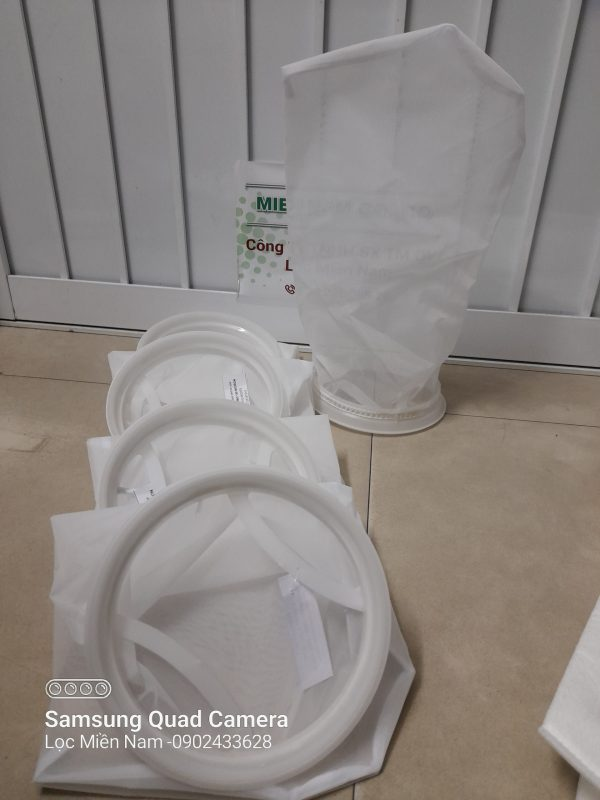 Túi lọc NMO cấp độ lọc đa dạng vành nhựa