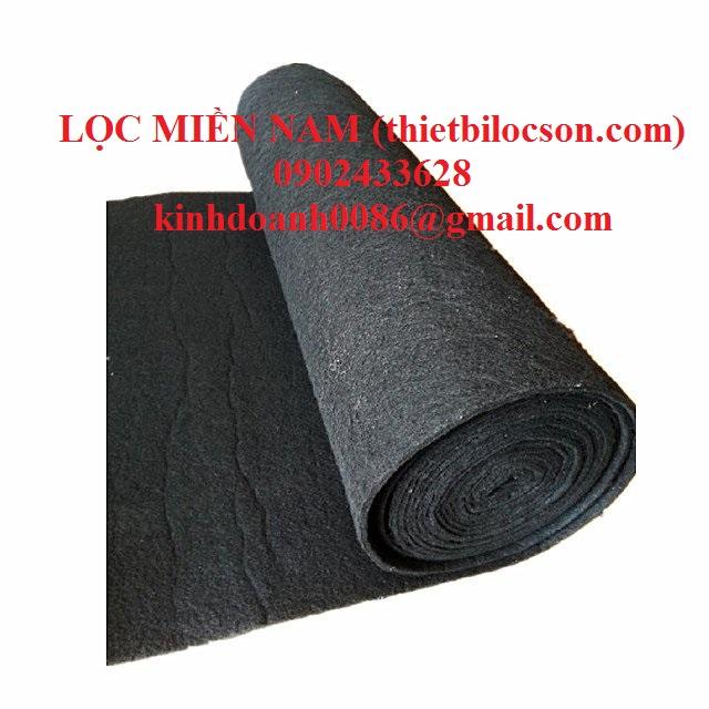Bông carbon dạng sợi 5mm 10mm chuyên dùng lọc khử mùi