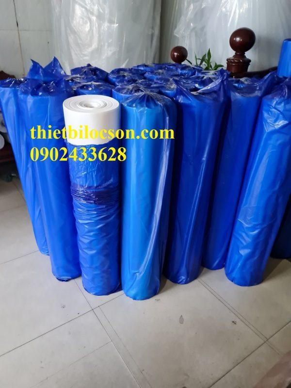 Cuộn giấy mềm lọc dầu bề mặt trơn loại 70g