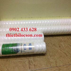 Lọc cặn nước thải bằng lõi CPP 20 inch 200 micron
