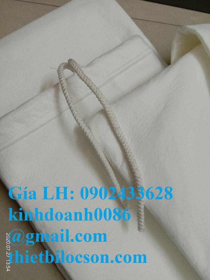Túi lọc PE 100 micron miệng dây rút