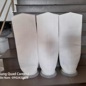 Túi lọc PE size 5 miệng nhựa PP ép nhiệt lọc thực phẩm