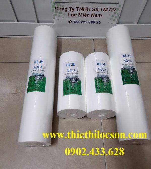 Lõi lọc bông nén big AQUA Hàn Quốc 20 inch