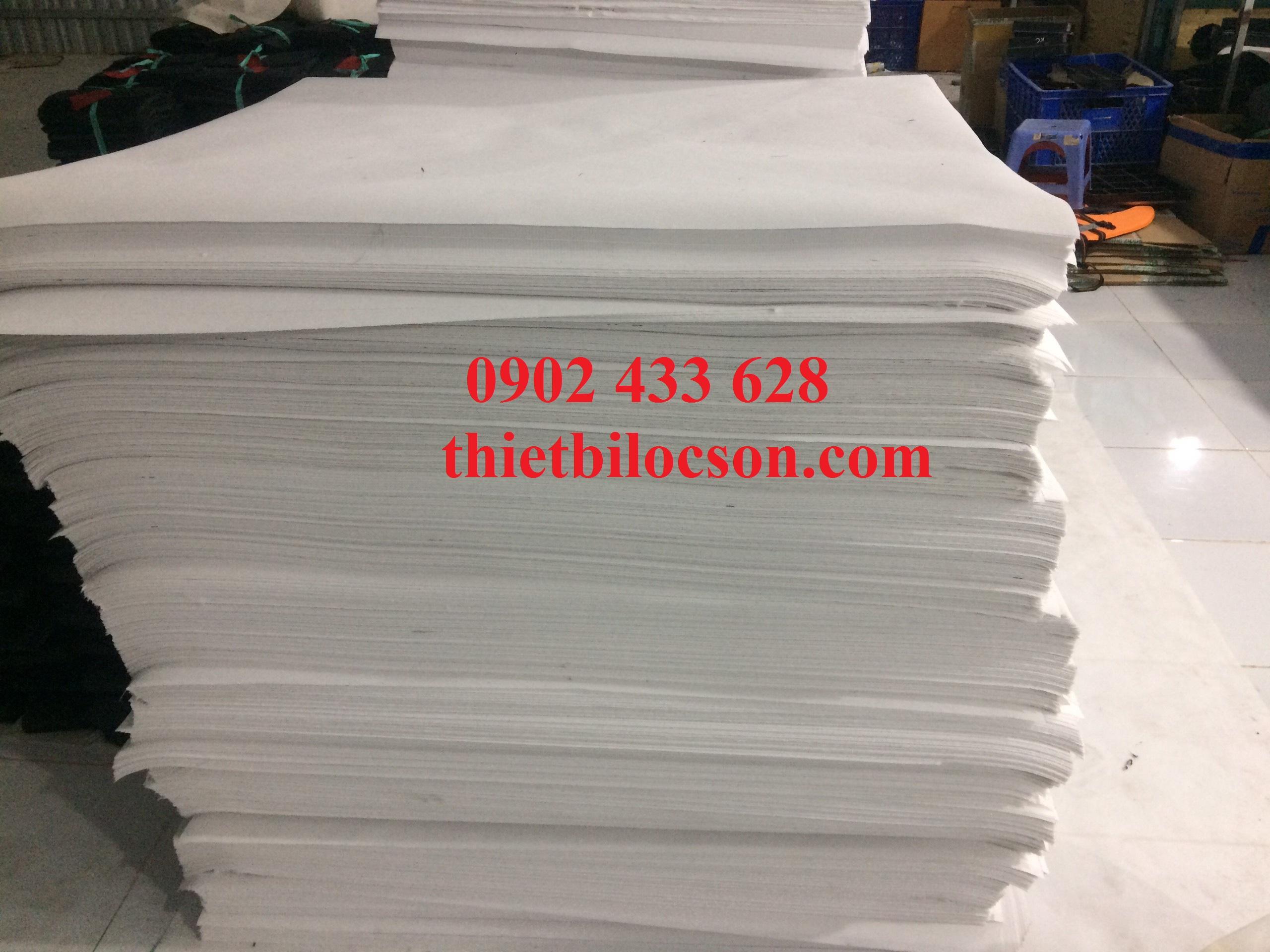 Giấy lọc trơn định lượng 70g cắt tấm theo yêu cầu