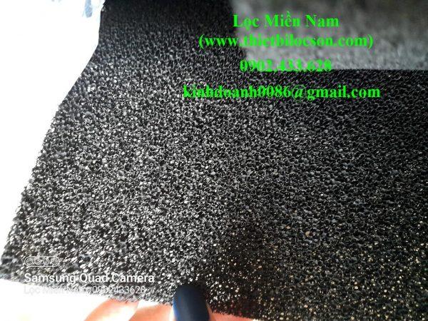 Tấm xốp carbon khử mùi 10mm