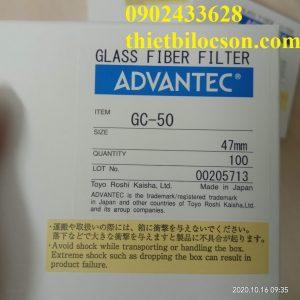 Giấy lọc PTN Advantec Glass Fiber Filter