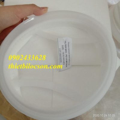 Lọc dược phẩm bằng túi lọc PE cấp độ 5 micron
