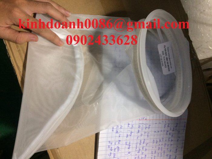 Túi lọc NMO kích thước size 1 lọc dầu
